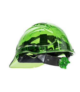 PV60 - Peak View Ratchet Hard Hat Vented - Green - R