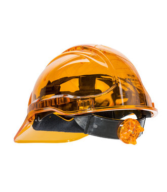 PV60 - Peak View Ratchet Hard Hat Vented - Orange - R