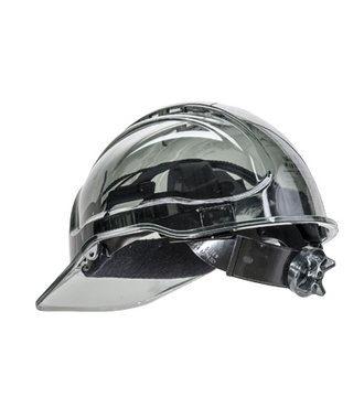 PV60 - Peak View Ratchet Hard Hat Vented - Smoke - R