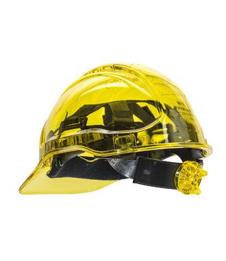 PV60 - Peak View Ratchet Hard Hat Vented - Yellow - R