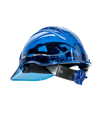 PV64 - Peak View Plus Ratchet Hard Hat - Blue - U
