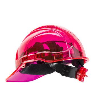 PV64 - Peak View Plus Ratchet Hard Hat - Pink - R
