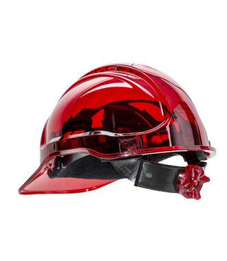 PV64 - Peak View Plus Ratchet Hard Hat - Red - R