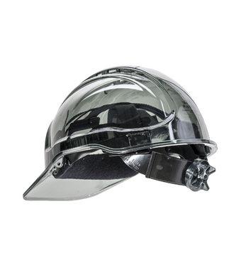 PV64 - Peak View Plus Ratchet Hard Hat - Smoke - R