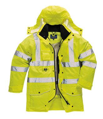 S427 - Hi-Vis 7-in-1 Traffic Jacket - Yellow - R