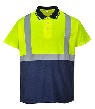 S479 - Zweifarbiges Polo Shirt - YeNa - R