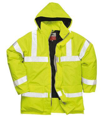 S778 - Bizflame Regen-Warnschutz Jacke - Yellow - R