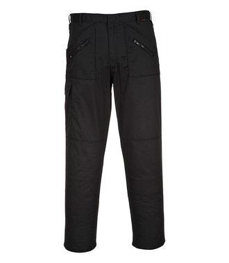 S887 - Pantalon Action - Black - R