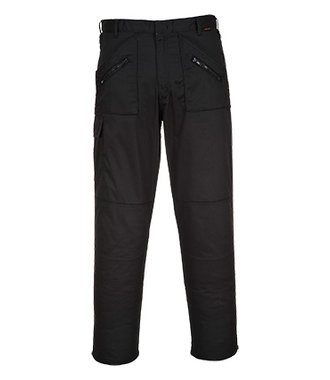 S887 - Pantalon Action - BlackX - X