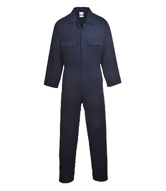 S998 - Euro Work Cotton Coverall - Navy - R