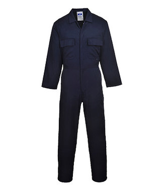 S999 - Euro Arbeits-Poly/Baumwoll-Overall - Navy - R