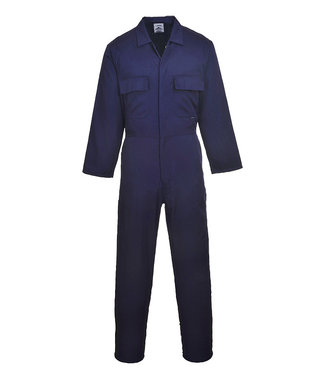 S999 - Euro Work Coverall - Navy T - T