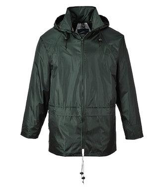 S440 - Klassische Regenjacke - Olive - R