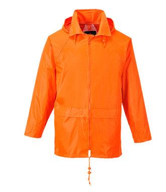 S440 - Klassieke Volwassen Regenjas - Orange - R