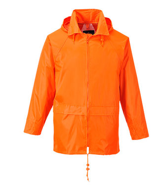 S440 - Klassische Regenjacke - Orange - R