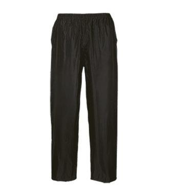 S441 - Classic Adult Rain Trousers - Black - R