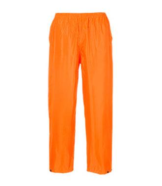 S441 - Klassieke Volwassen Regenbroek - Orange - R