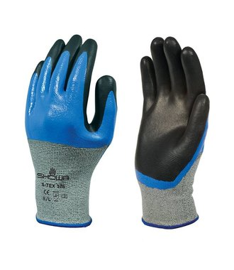 S-TEX gloves 376 with oil grip and cut resistance