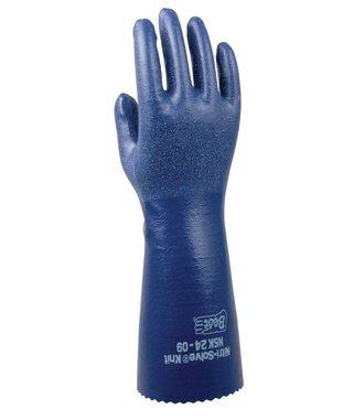 Best NSK24 doublé Nitrile gants chimie
