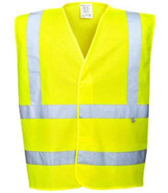 FR71 - antistatische Warnschutz Weste - flammhemmend - Yellow - R