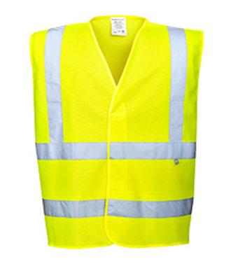 FR75 - Gilet Hivis Résistant à la flamme - Yellow - R