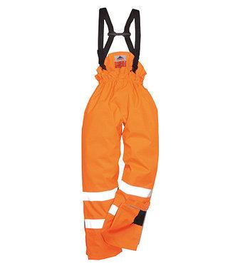S781 - Pantalon HV FR Antistatique Doublé - Orange - R