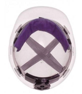 Hyperkewl Forehead Cooler sous casque de sécurité