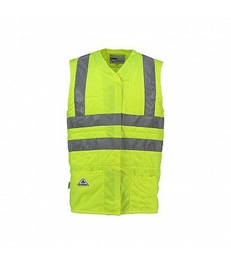 Yellow High Vis Cat 2 cooling vest