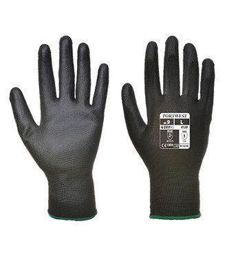 A120 - PU Palm Glove - Black - R