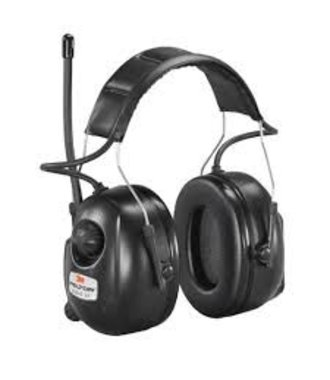 Peltor ear muff with radio and MP3