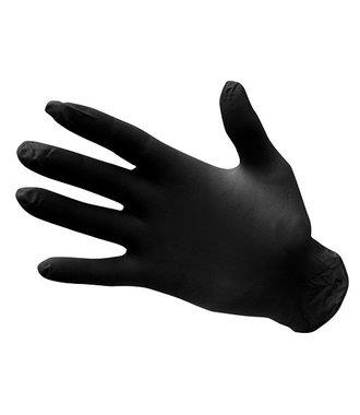 A925 - Gants Nitrile Non poudrés à usage unique - Black - R