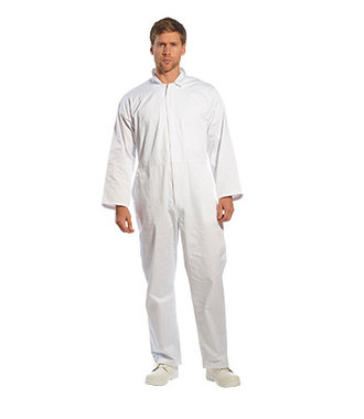 2201 - Food Coverall - White - R