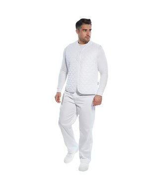 2204 - Bodywarmer pour industrie agro-alimentaire - White - R