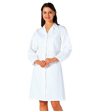 2205 - Ladies Food Coat - White - R