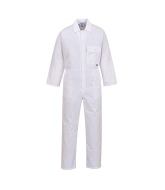 2802 - Standard Coverall - White - R