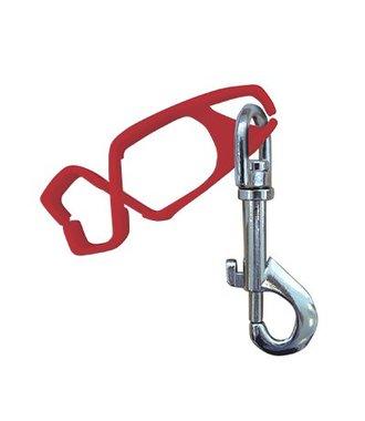 A001 - Clip pour gant - Red - R