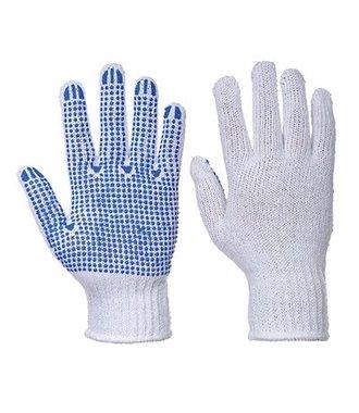 A111 - Fortis Polka Dot Glove - WhBlu - R