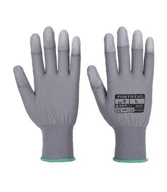 A121 - Gant doigts enduits PU - Grey - R