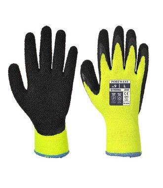 A143 - Thermal Soft Grip Glove - YeBk - R