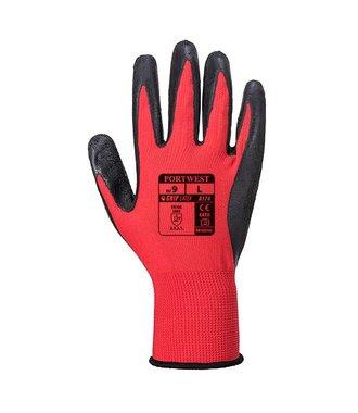 A174 - Gant Latex Flex Grip - RedBk - R