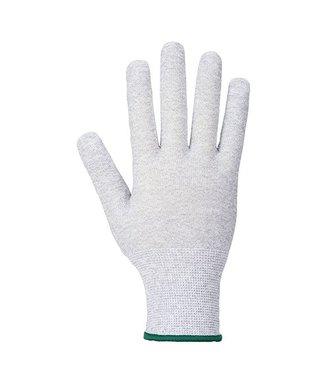 A196 - Antistatisch Micro Noppen Handschuh - GreyWh - R
