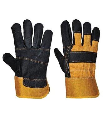 A200 - Furniture Hide Glove - Yellow - R