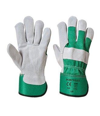 A220 - Premium Chrome Rigger Glove - Green - R