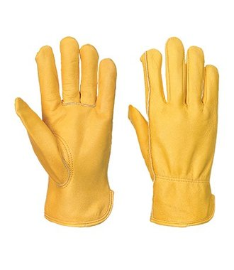 A271 - Lined Driver Glove - Tan - R