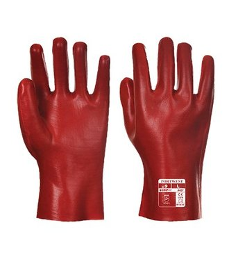 A427 - PVC Gauntlet - Red - R