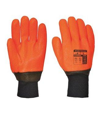 A450 - Weatherproof Hi - Vis Glove - Orange - R