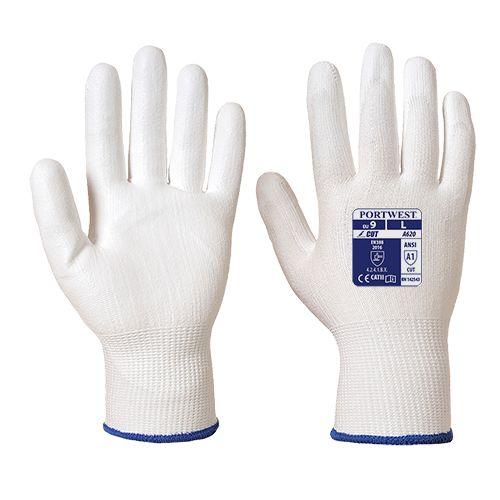 Portwest Cut 3 PU Palm Work Glove Cut Resistant Safety Workwear A620