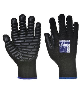 A790 - Antivibratie Handschoen - Black - R