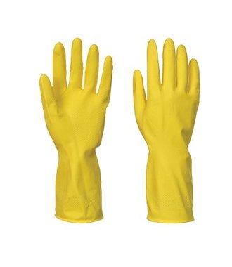 A800 - Huishoud Latexhandschoen - Yellow - R