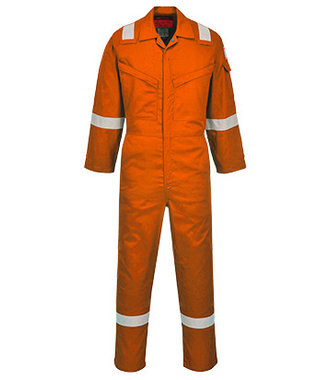 AF73 - Araflame Silver Coverall - Orange - R